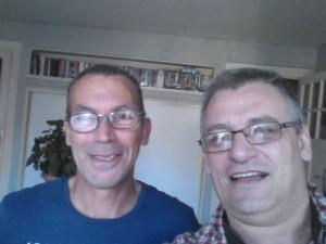 Stéphane et Bruno à Saint-Brieux le 21 9 16