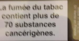 message d'empoisonnement des cigarettes 2