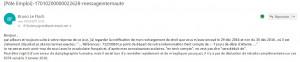 Courrier de Bruno Le Floch le 3 janvier à 12h03