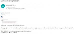 Courrier de Bruno Le Floch le 3 janvier à 12h24