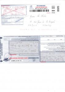 accusé de réception et preuve de dépot affaire Système U032