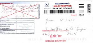 Accusé de réception procureur de la république de nantes046