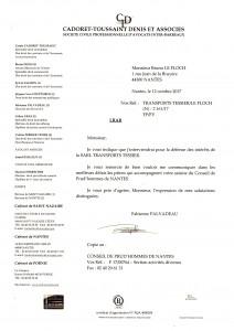 Courrier recommandée de l'avocat des Transports Tessier du 12 10 2017 056