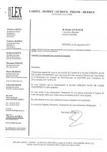Lettre recommandée de l'avocat de Chrono Intérim  044