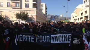 Manif pour Yacine le 15 10 2017 à Aulnay-sous-bois 1